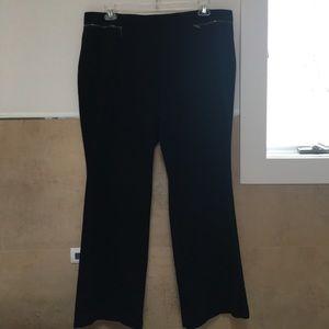 Alfani Pull-on Black Pants 20W